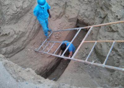 Namibe, Angola: estudio geotécnico y de impacto ambiental