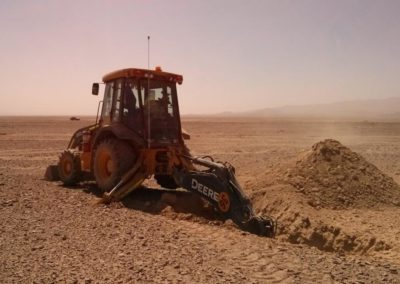 Calama, Chile: geotechnical characterization and ramming test