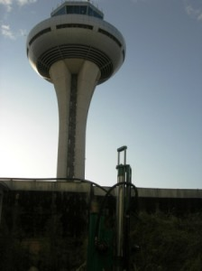 Geotechnical study for widening of accesses to control tower.