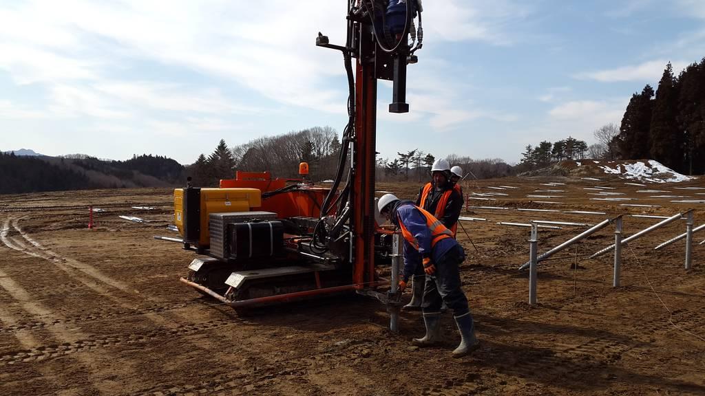 Japón: estudios de viabilidad de cimentación por hincado