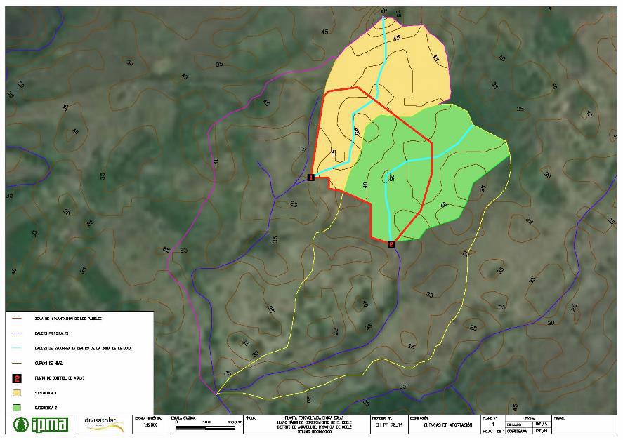 Coclé, Panamá: estudio hidrológico para planta solar