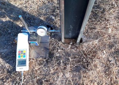 Murcia: ensayo de hincado para planta solar fotovoltaica